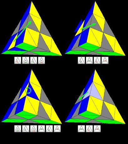 Обучения пирамиды кубик рубика