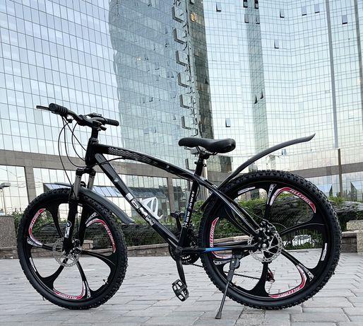 Скоростной складной велосипед титановый диск/литые диски LAND ROVERХит