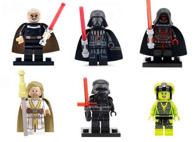 Figurine tip LEGO Star Wars, Dooku, Luke Skywalker, Darth Revan, Oola