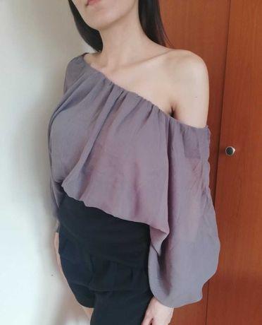 SALE! Елегантна блуза с шифон ръкави