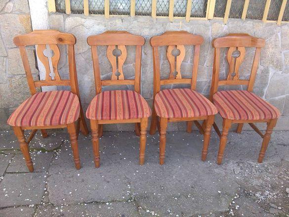 Столове-4 бр.-чам