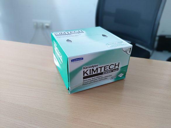 Безвлакнести кърпички Kimwipes Kimtech