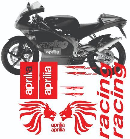 Kit stickere Aprilia rs 125 250 cc racing