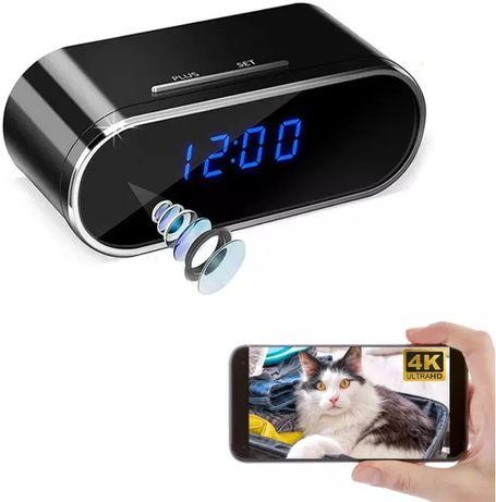 WiFi скрита камера в настолен часовник, будилник