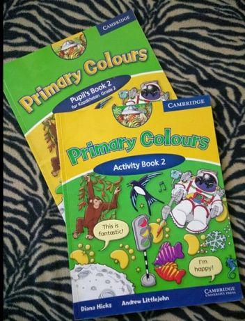 Учебник английского языка Primary Colours и рабочая тетрадь (комплект)
