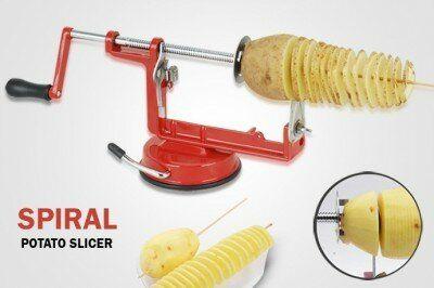 Masina Spiral Potato Slicer pentru taiat cartofi in spirala
