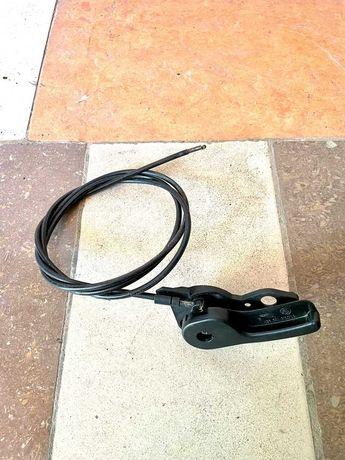 Торс капота с ручкой на BMW E34 БМВ Е34