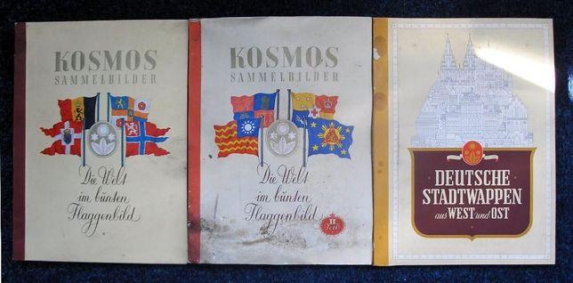Lot 3 albume cartonase pachete tigari (526 cartonase) - Drapele
