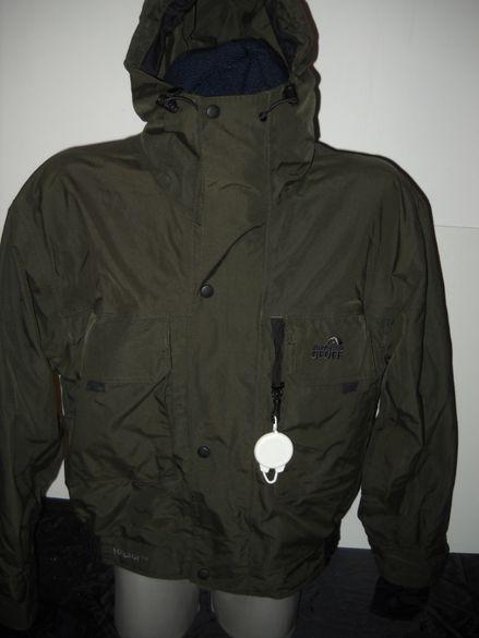 GEOFF Anderson. ЯКЕ и РИЗА от L до XL марково риболовно облекло.