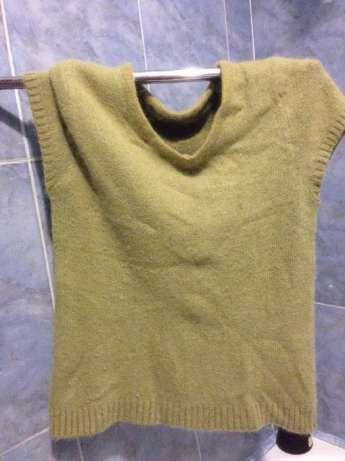 bluza pufoasa verde noua