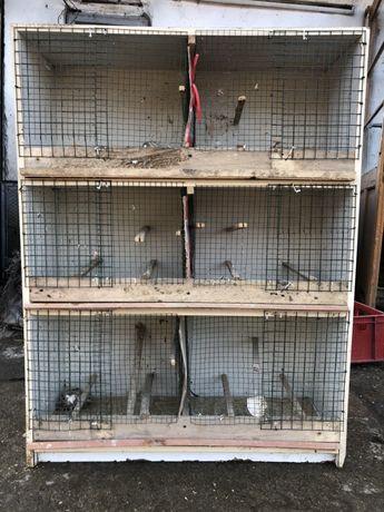 Cușcă pentru canari 6 boxe