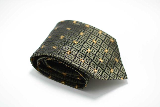 Cravata Barbati Ermenegildo Zegna 9 x 147 cm Clasica Verde CR149