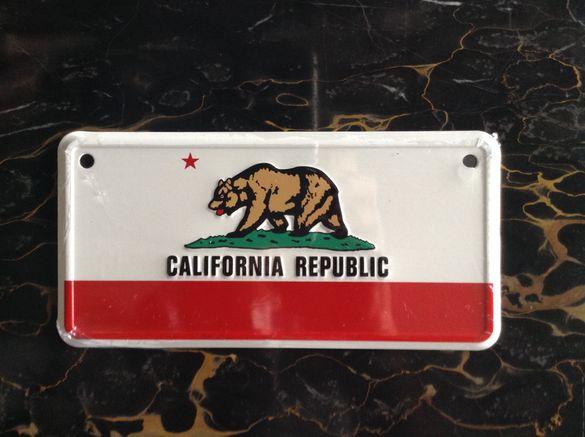 Табела за велосипед-Калифорния Републик