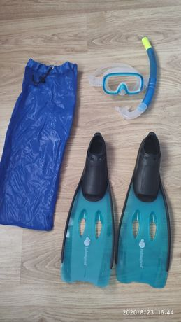 Snorkeling set pt. copil, măsură labe 31-32
