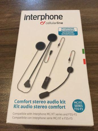 Interphone Audio Comfort Kit Double Microphone