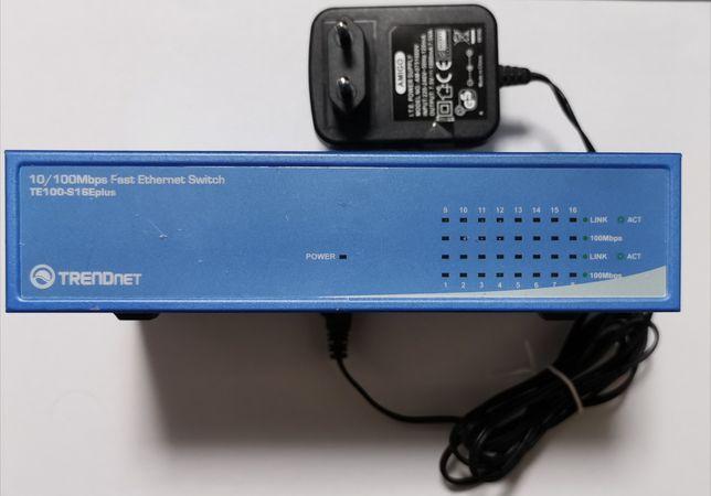 Switch Trendnet TE100-S16E plus