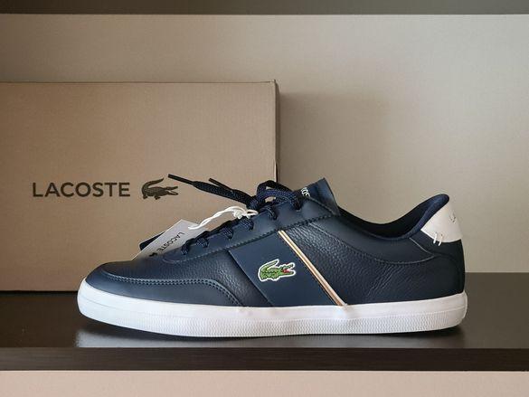 Lacoste Court-Master 42номер 26.5см Стелка Естествена Кожа Нови сКутия