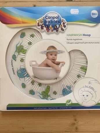 Бебешка шапка-козирка за къпане