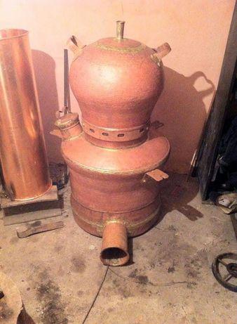 Cazan din cupru pentru tuica palinca 250 litri