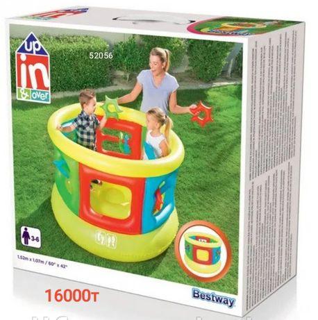 Игровые детские батуты производство intex и best way
