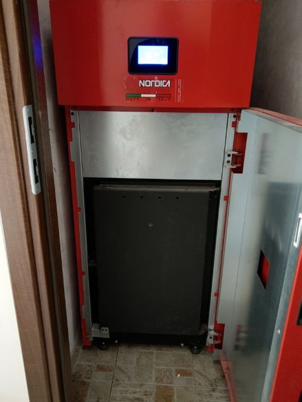 Продавам пелетен котел LA NORDICA Extraflame HP 30 - 9,5-33,9 kW