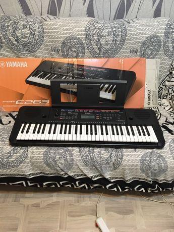 Yamaha psr e263 синтезатор