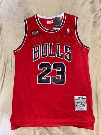 Maiou NBA Mitchel & Ness JORDAN 23 NBA Finals 1997-1998