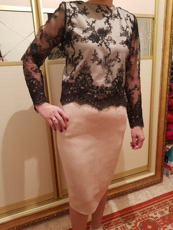 Двойка юбка с кофтой