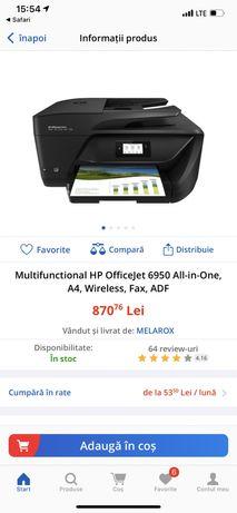 Imprimanta HP OFFICEJET 6950 noua