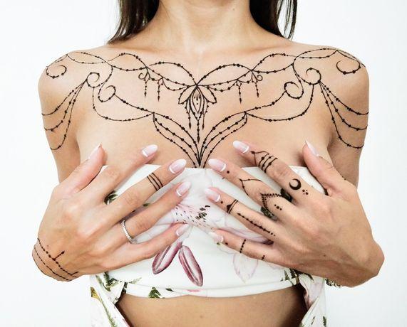 Tatuaje cu henna