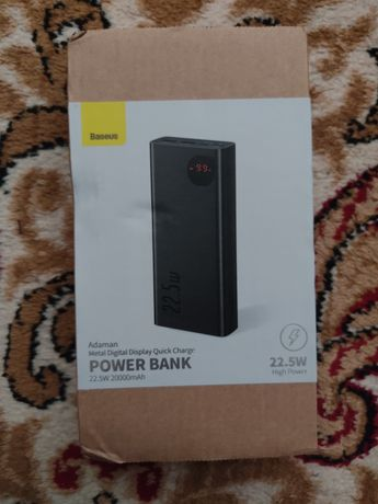 Power bank 20.000 mAh / 22.5W мощность