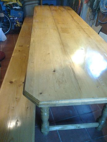 Masa din lemn masiv-3,20 m