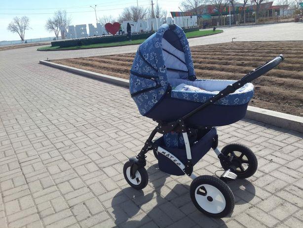 Детская коляска, б/у ,состояние новое