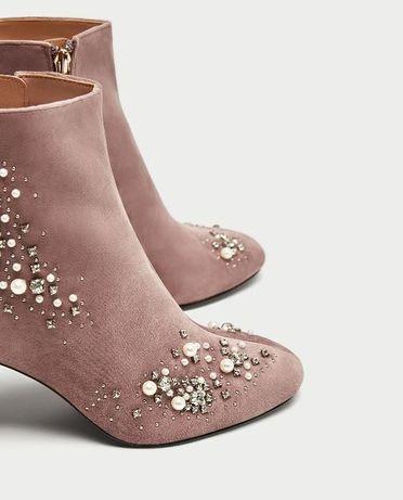 Zara - нови с перли! Промо цена!