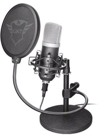 Студийный, конденсаторный микрофон TRUST EMITA 252 для звукозаписи