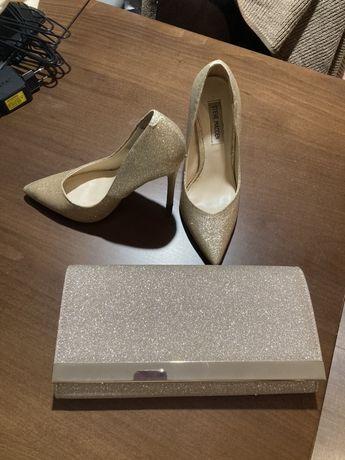 Високи обувки Steve Madden и чанта-клъч NEXT