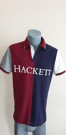 Hackett Slim Fit Pique Cotton Mens Size L ОРИГИНАЛ! Мъжка тениска