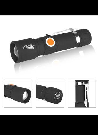 Фенер за колело / USB / фенер за велосипед със стойка
