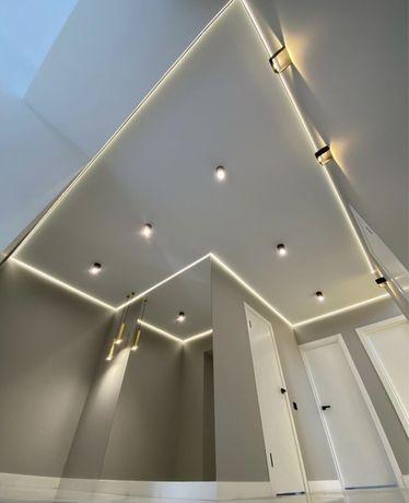 Натяжные потолки от 1500тг