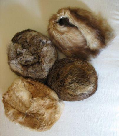 Нови кожени шапки мъжки и дамски - естествен косъм