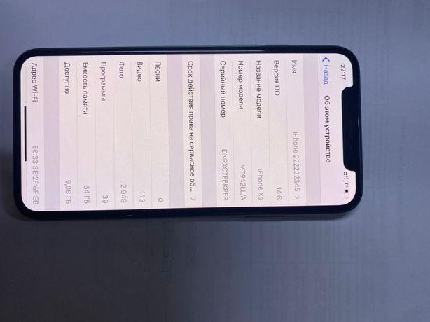 Iphone xs 64gb/Айфон хс 64гб