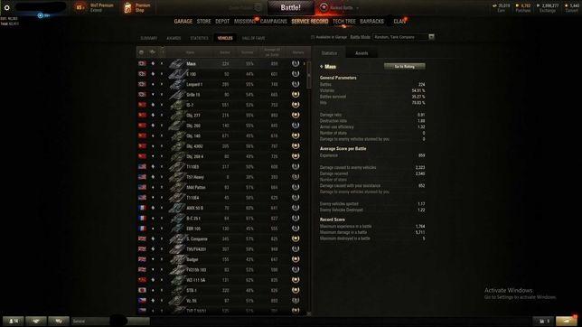 Joc World of Tanks T95/FV4201 Chieftain+Obj. 260