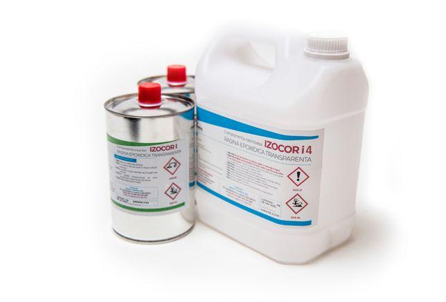 Rasina Epoxidica Transparenta - IZOCOR I4 - 15 kg