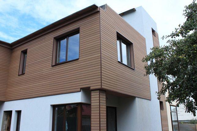 Покраска зданий и домов. Покраска крыш, заборов, парковок