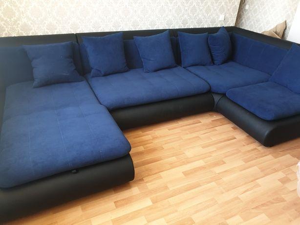 Новый диван  П образный