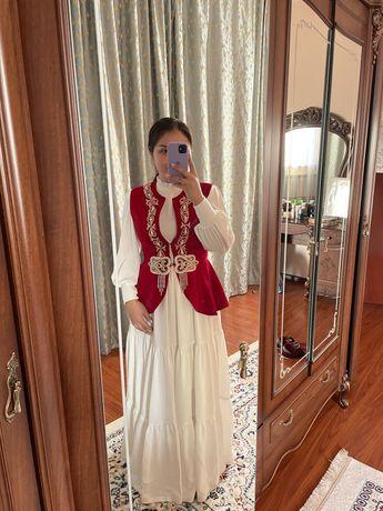 Платье на узату, сырга салу, кудалык