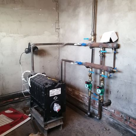 Отопление,тепловой узел,тёплый пол,водопровод и канализация под ключ!