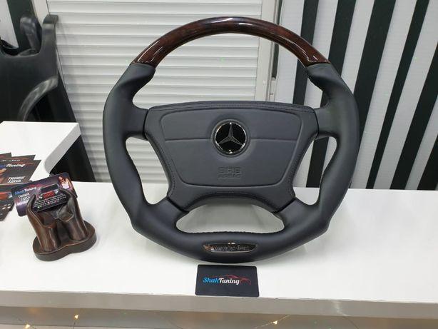 Анатомический руль для модельного ряда Mercedes Benz W124 w140 w202 w