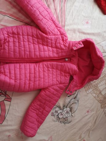 Детско яке в розово