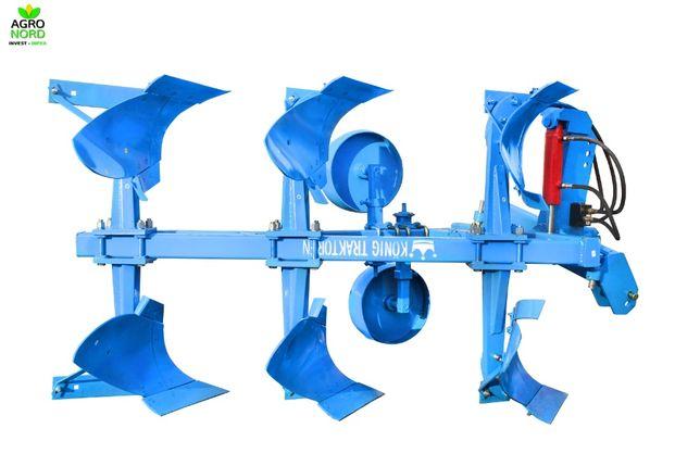 Plug agricol 3 trupite reversibil hidraulic Konig CB67
